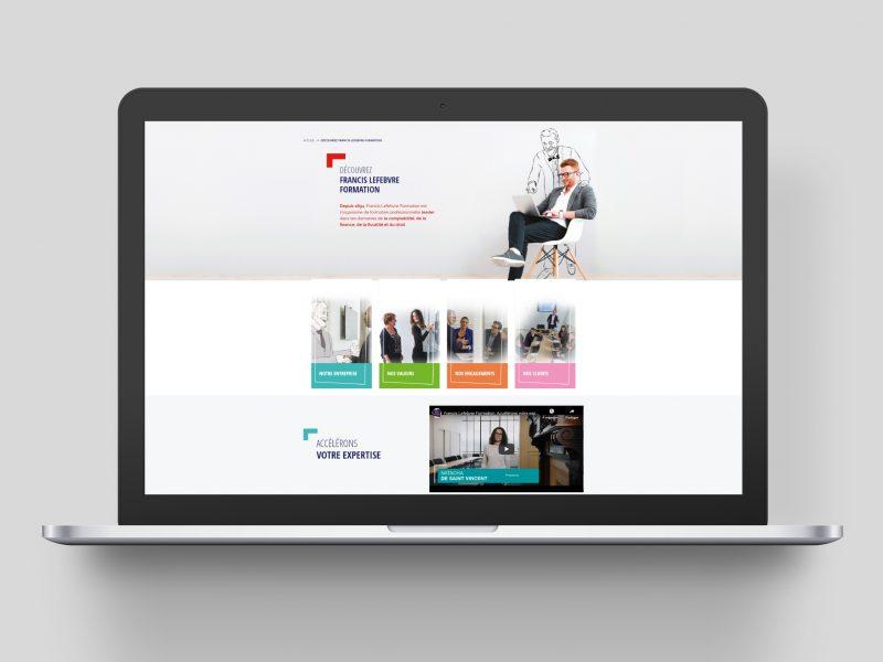 Site web Francis Lefebvre Formation