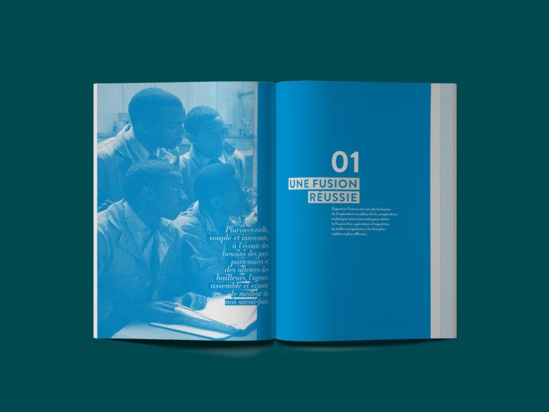 Rapport annuel 2015 d'Expertise France – double d'ouverture